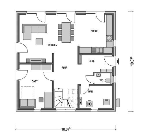 Villa SV160 Floorplan 1