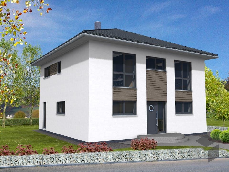 Stadtvilla 161 von Suckfüll - Unser Energiesparhaus Außenansicht
