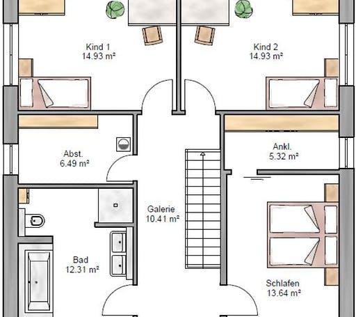 Stadtvilla 161 Floorplan 2