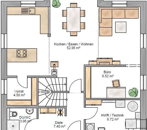 Stadtvilla 173 Floorplan 1