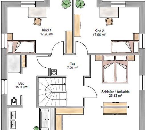 Stadtvilla 173 Floorplan 2