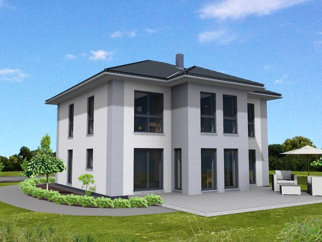 Stadtvilla 189 von Suckfüll - Unser Energiesparhaus Außenansicht 1
