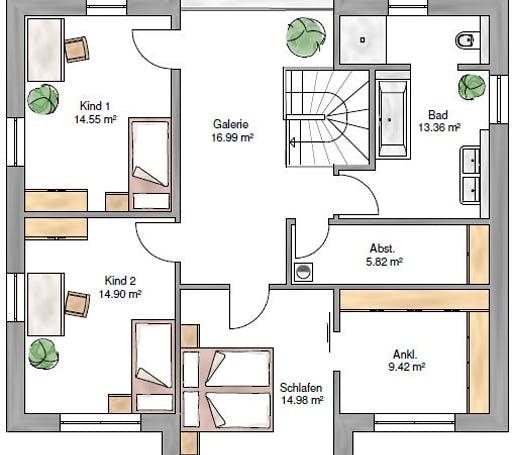 Stadtvilla 189 Floorplan 2