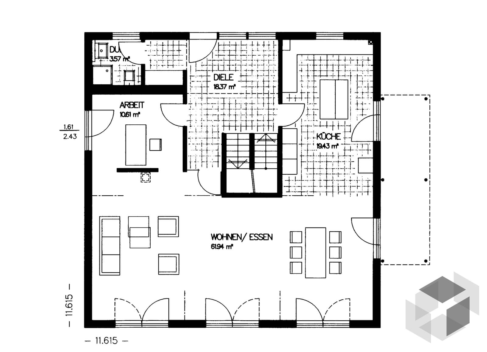 was bedeutet ausbauhaus was genau bedeutet ausbauhaus. Black Bedroom Furniture Sets. Home Design Ideas