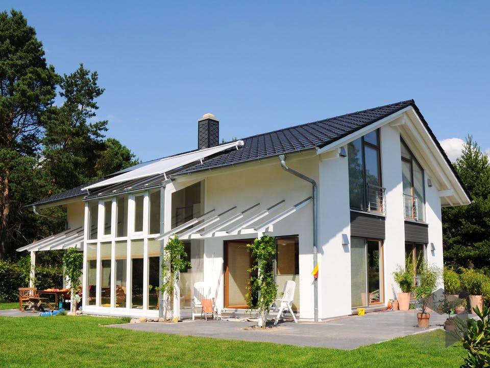 Stefanie (KfW-Effizienzhaus 40) von Dammann-Haus Außenansicht