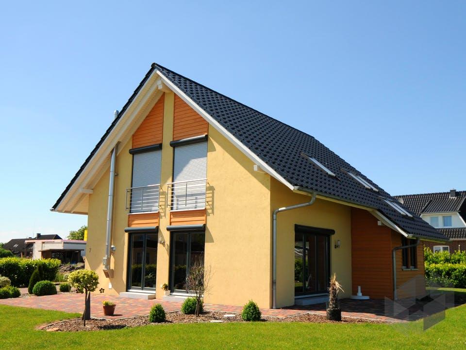 Steffy (KfW-Effizienzhaus 40) von Dammann-Haus Außenansicht