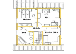 Steffy (KfW-Effizienzhaus 40) Grundriss