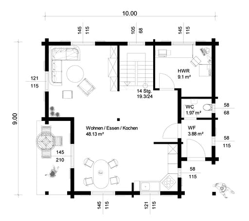 Steinheim Floorplan 1