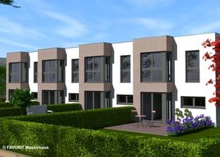 ein reihenhaus bauen preise anbieter infos. Black Bedroom Furniture Sets. Home Design Ideas
