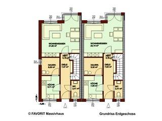 Stella E92/M95 von Favorit Massivhaus Grundriss 1