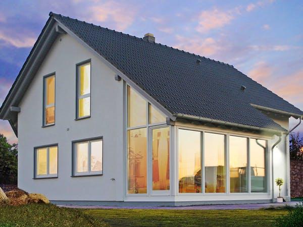 Schleppdach für Wintergarten