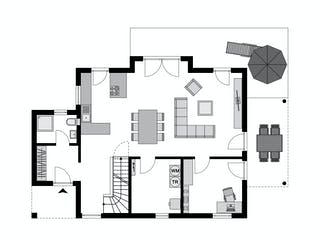 Family Klassiker VG Gestaltungsidee 03 von STREIF Haus Grundriss 1