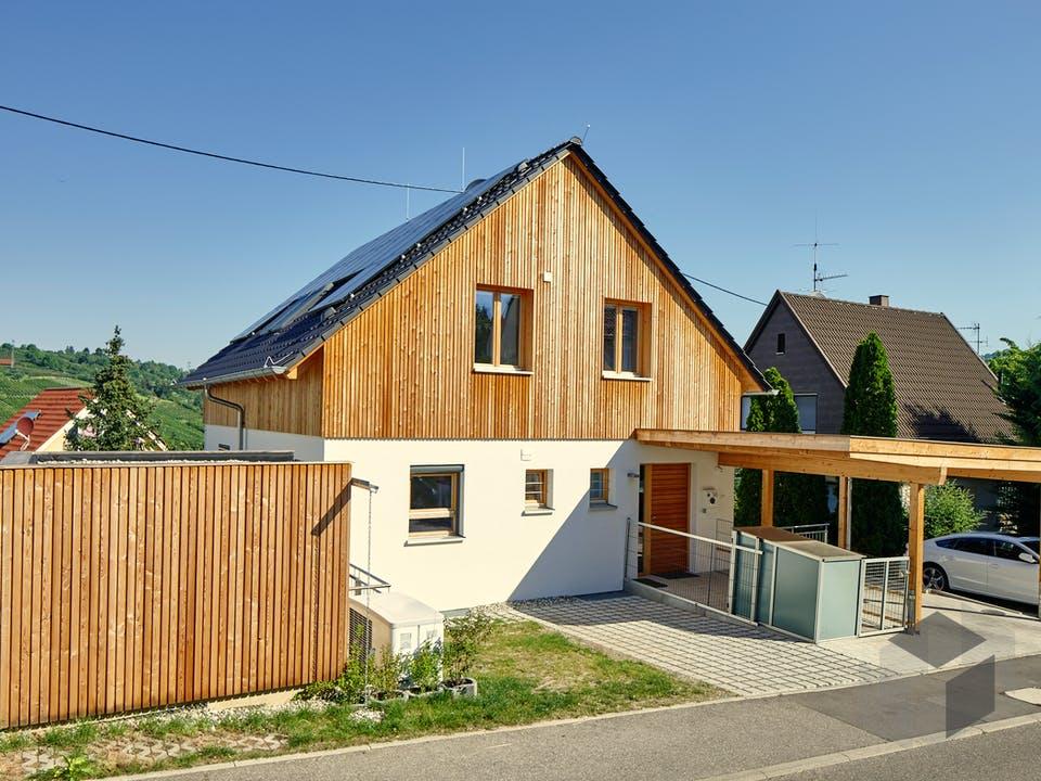 Stuttgart von Rems-Murr-Holzhaus Außenansicht