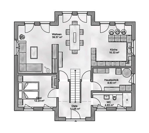 Aurea - Sublimis Floorplan 1
