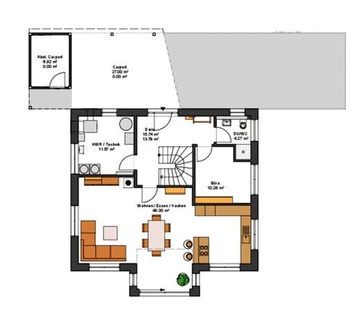 Suckfüll MH Bad Vilbel Floorplan 1