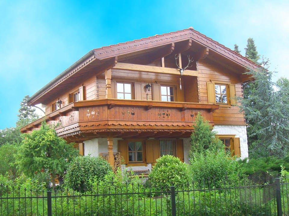 Südtirol (ohne Unterbau) von Tirolia Blockhaus Außenansicht