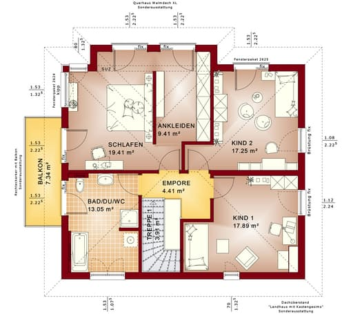 Sunshine 165 V6 floor_plans 1