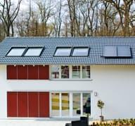 Ausstellungshaus Rheinau-Linx - sunshine
