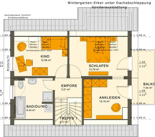 Sunshine 125 V2 Floorplan 2