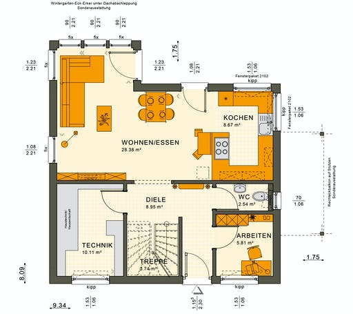 Sunshine 125 V2 Floorplan 3