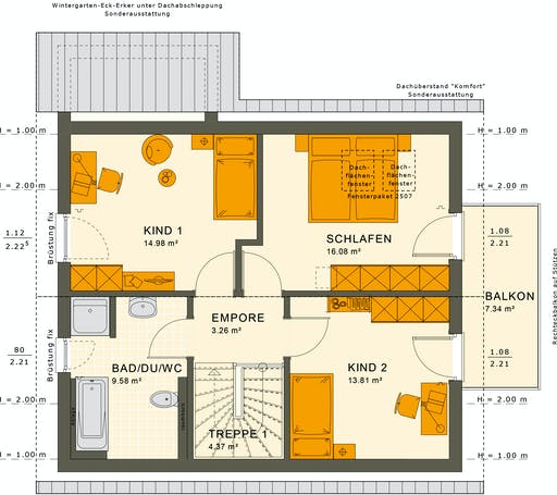 Sunshine 125 V2 Floorplan 4