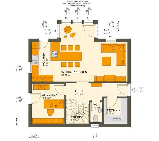 Sunshine 125 V3 Floorplan 1
