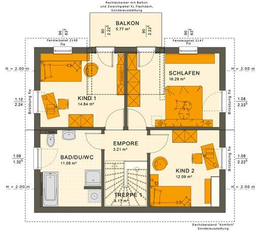 Sunshine 125 V3 Floorplan 2