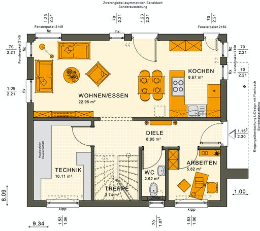 Sunshine 125 V3 Floorplan 3