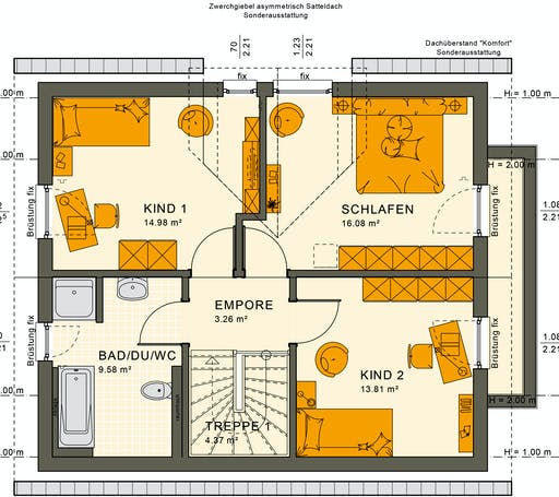 Sunshine 125 V3 Floorplan 4