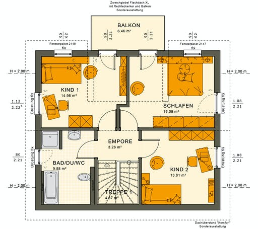 Sunshine 125 V4 Floorplan 4