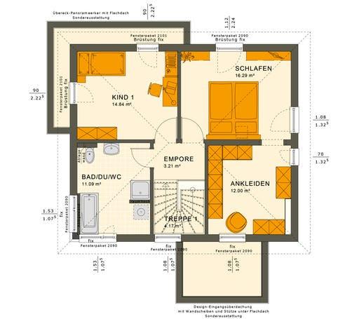 Sunshine 125 V5 Floorplan 2