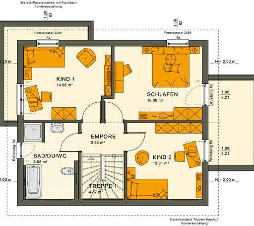 Sunshine 125 V5 Floorplan 4