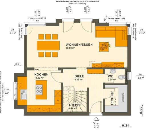 Sunshine 125 V6 Floorplan 1