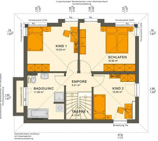 Sunshine 125 V6 Floorplan 2