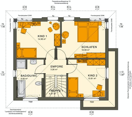 Sunshine 125 V6 Floorplan 4