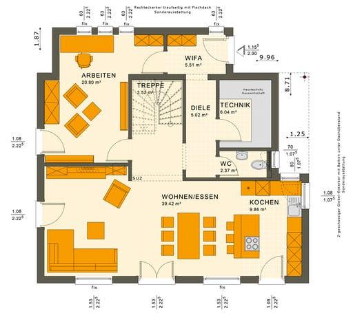 Sunshine 143 V2-V3 Floorplan 1