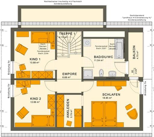 Sunshine 143 V2-V3 Floorplan 2