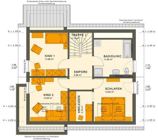 Sunshine 143 V2-V3 Floorplan 4