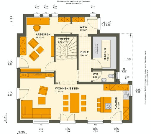 Sunshine 143 V2 Floorplan 5