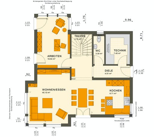 Sunshine 143 V3 Floorplan 3