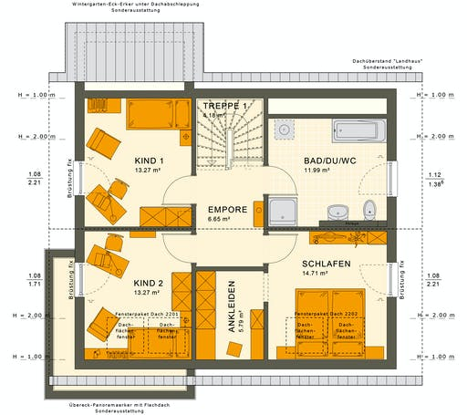Sunshine 143 V3 Floorplan 4