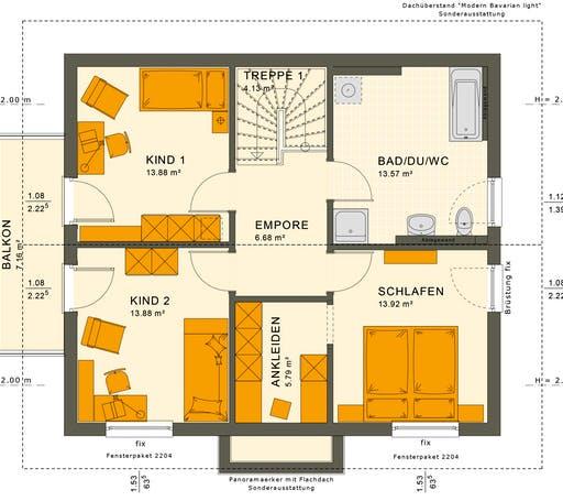 Sunshine 143 V4-V5 Floorplan 2