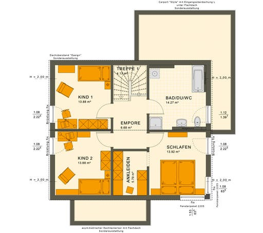 Sunshine 143 V4-V5 Floorplan 4