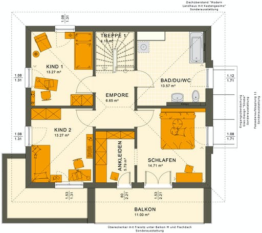 Sunshine 143 V6 Floorplan 4