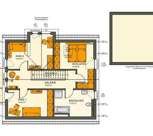 Living Haus - SUNSHINE 144 V3 Floorplan 2