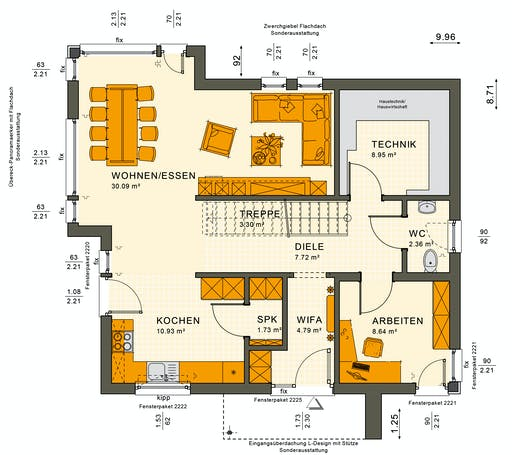 Living Haus - SUNSHINE 144 V4 Floorplan 1
