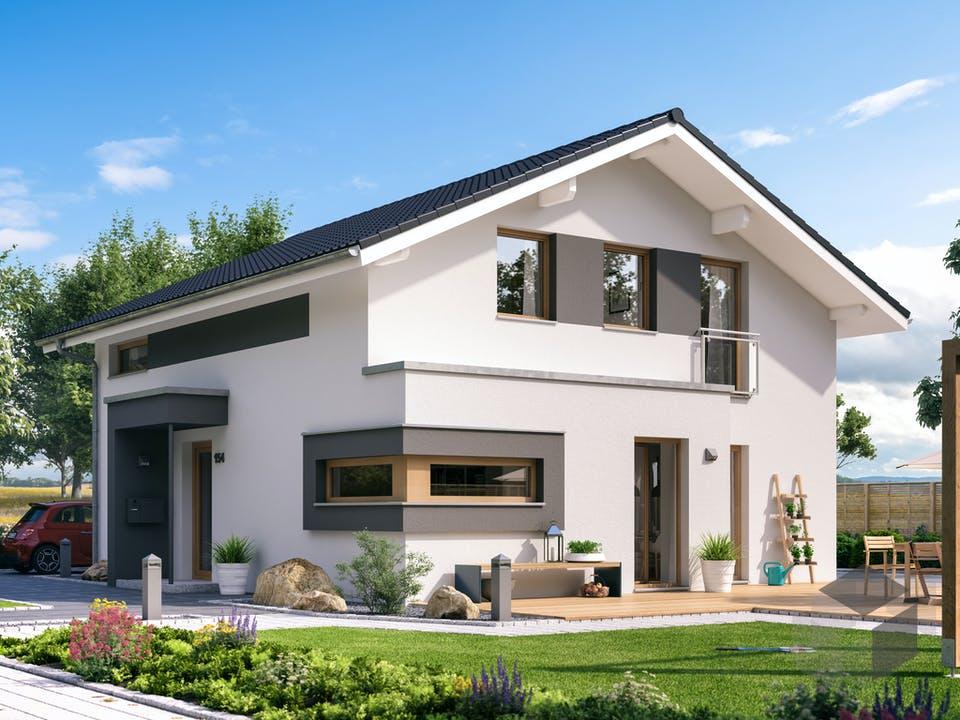 SUNSHINE 154 V5 von Living Haus Außenansicht