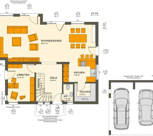 Sunshine 165 V2-V3 Floorplan 1