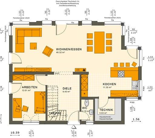 Sunshine 165 V2-V3 Floorplan 3
