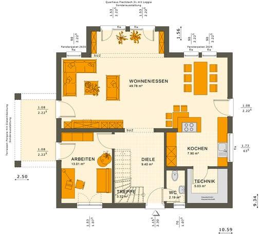 Sunshine 165 V4-V5 Floorplan 3